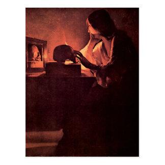 Maria Magdalena de Georges de La Tour Tarjetas Postales