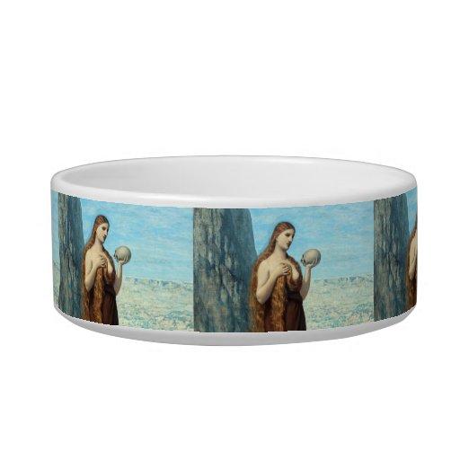 Maria Magdalena en el desierto de Puvis de Chavann Tazones Para Gatos