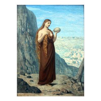 Maria Magdalena en el desierto de Puvis de Chavann Fotografías