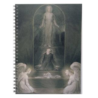 Maria Magdalena en el sepulcro c 1805 w c y p Libreta