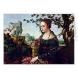 Maria Magdalena. En enero Van Scorel (la mejor Tarjeta De Felicitación