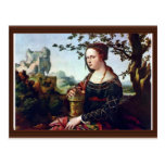 Maria Magdalena. En enero Van Scorel (la mejor Postal