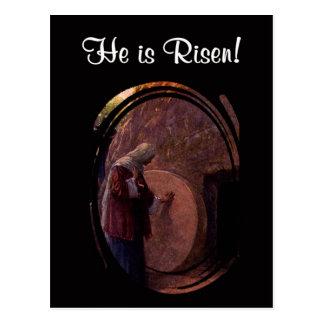 Maria Magdalena extraordinaria en la tumba vacía Postales