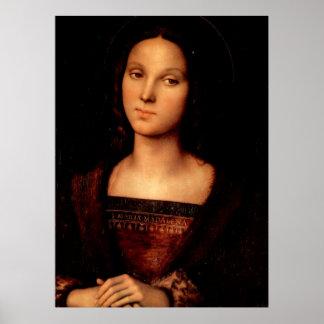 Maria Magdalena por Perugino Impresiones