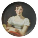 Maria más libre, 1809 (aceite en lona) platos de comidas