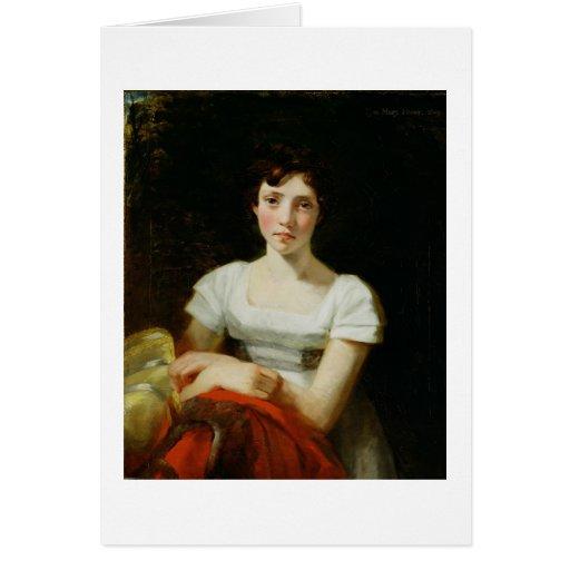 Maria más libre, 1809 (aceite en lona) tarjeta