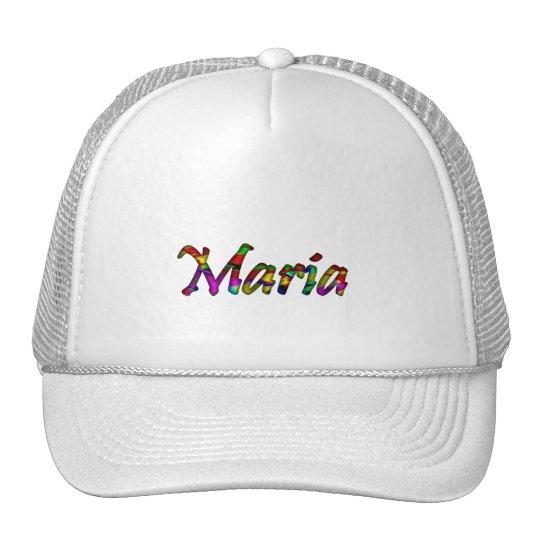 Maria mesh cap trucker hat