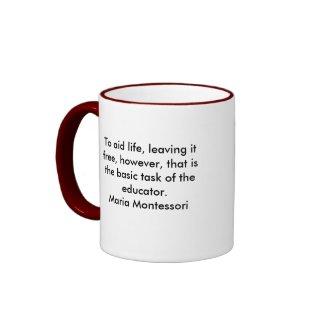 Maria Montesorri mug mug