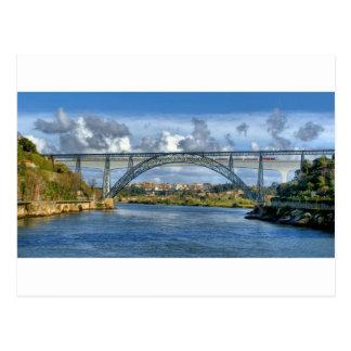 Maria Pia Bridge Postcard