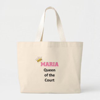 Maria queen of the court tote bag