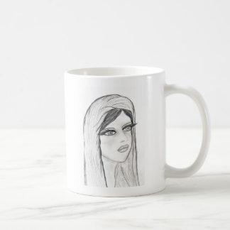 Maria radiante tazas