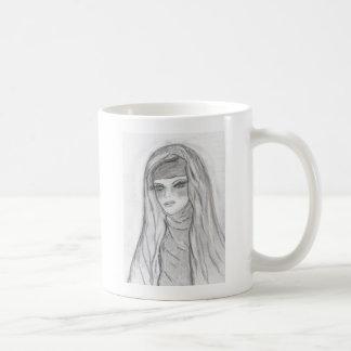 Maria reflexiva tazas de café