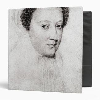 Maria, reina de escocés en el luto blanco, 1560