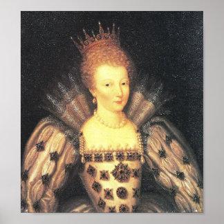 Maria, reina de escocés, también conocida como Mar Póster