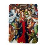 Maria, reina del cielo, C. 1485 - 1500 Imanes Rectangulares