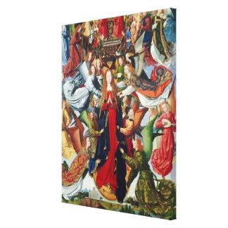 Maria, reina del cielo, C. 1485 - 1500 Impresión En Lona