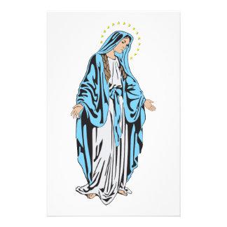 Maria saint stationery
