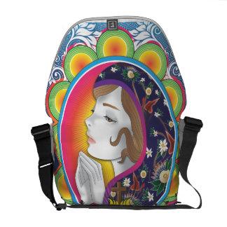 Maria santa bolsa de mensajeria