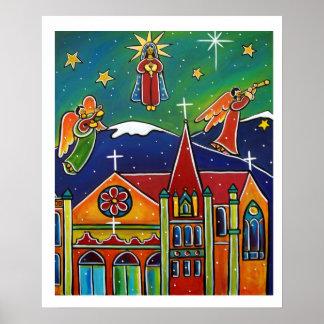 Maria santa ruega para nosotros en enero a Oliveri Impresiones