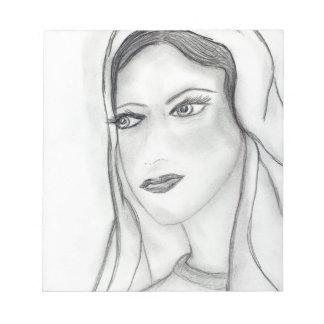 Maria solemne bloc de notas