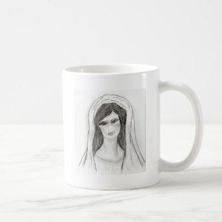 Maria suave taza de café