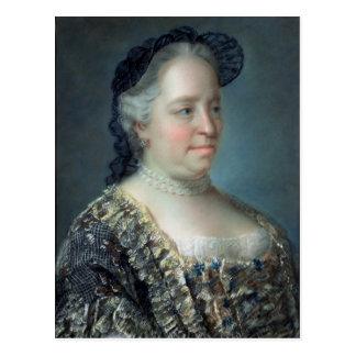 Maria Teresa, emperatriz de Austria, 1762 Postales