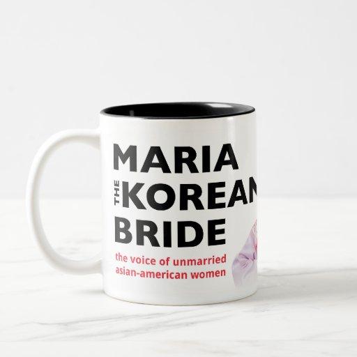 Maria the Korean Bride Mug