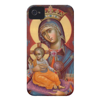 Maria - Theotokos iPhone 4 Case-Mate Protector