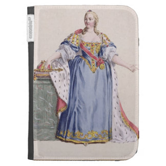 Maria Theresa (1717-80) Empress of Austria, from ' Cases For The Kindle