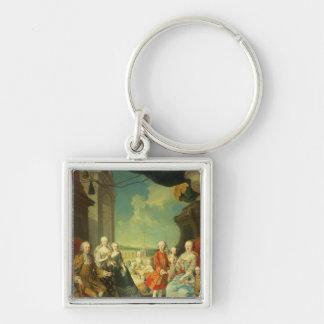 Maria Theresa and her Husband Key Chains