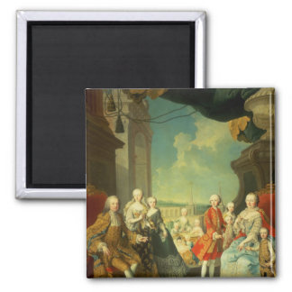 Maria Theresa and her Husband Refrigerator Magnets