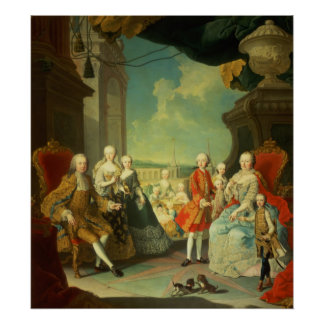 Maria Theresa and her Husband Poster