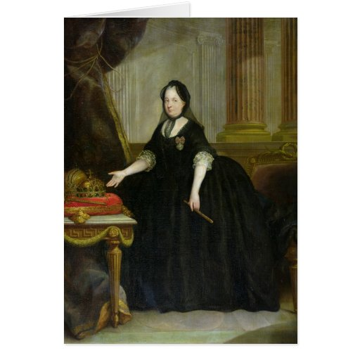 Maria Theresa  Empress of Austria Cards