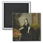Maria Theresa  Empress of Austria 2 Inch Square Magnet