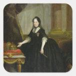 Maria Theresa  Empress of Austria Square Stickers