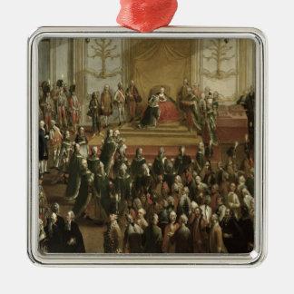 Maria Theresa Metal Ornament