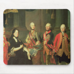 Maria Theresa of Austria  with four of her Mouse Pad