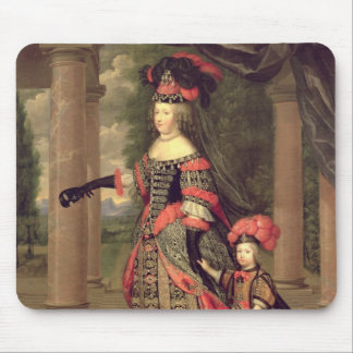 Maria Theresa  wife of Louis XIV Mouse Pad