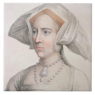 Maria Tudor (1516-58) grabado por Francisco Bartol Teja