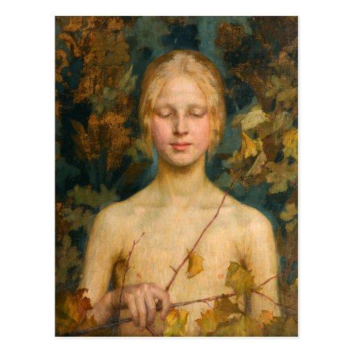 Maria Wiik Innocentia CC0614 Finnish Art Postcard