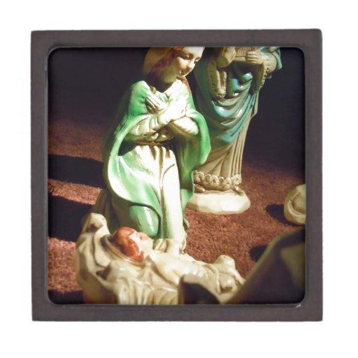 Maria y bebé Jesús Cajas De Joyas De Calidad