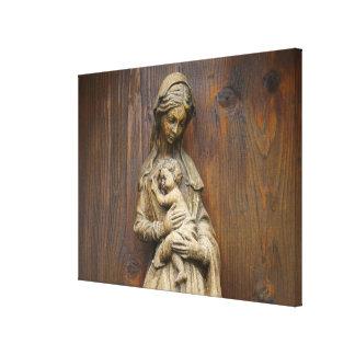 Maria y bebé Jesús Impresiones En Lienzo Estiradas