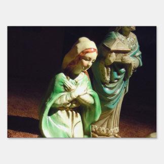Maria y bebé Jesús Señal