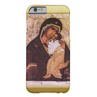Maria y el bebé Jesús Funda De iPhone 6 Barely There