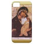 Maria y el bebé Jesús iPhone 5 Protector