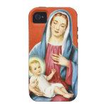 Maria y Jesús iPhone 4/4S Carcasa