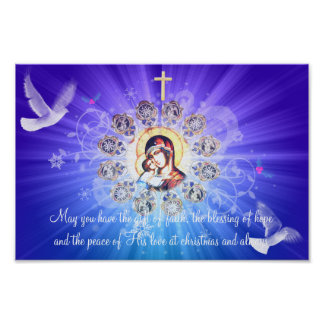 Maria y Jesús Posters