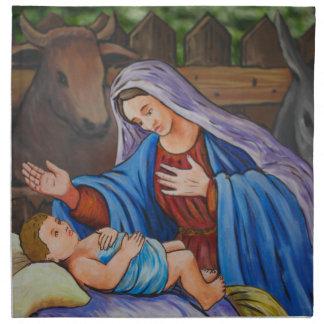 Maria y Jesús Servilletas De Papel