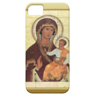 Maria y niño Jesús iPhone 5 Cárcasa