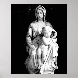 Maria y niño poster